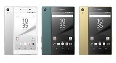 IFA 2015: SONY debuts Xperia Z5 Xperia Z5 Compact and Xperia Z5 Premium (world's first 4K smartphone) - Videos. #Android #Google @NEWsEden  #NEWsEden
