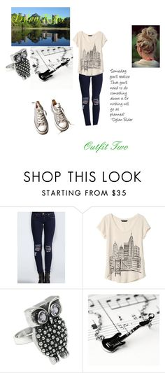 """Dylan Ryder, Fleeting Images. Outfit Two"" by ktsongwriterrose on Polyvore featuring Banana Republic, NOVICA, Kalk Bay and Converse"