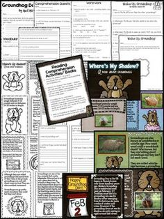 WHERE'S MY SHADOW? {A GROUNDHOG DAY OF FUN!} - Learn about groundhogs and celebrate Groundhog Day with this fun and engaging mini-unit! It includes an original informational book/PowerPoint presentation, groundhog guided reader, informational writing activities, literacy and math stations, a cute craft, language arts/math printables, and so much more!!