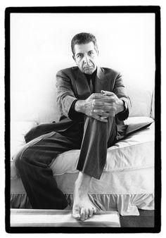 Léonard Cohen. © Renaud Monfourny