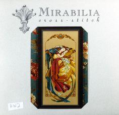 6X XStitch Pattern Mirabilia Dreamer Enchanted Dreamer Sleeping Beauty Angel HW2 | eBay
