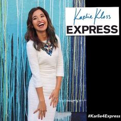Congratulations to our very own @cheetahtalkymas showing Latinas everywhere that you can achieve anything you put your mind to!  #Repost @cheetahtalkymas  Good morning everyone! I am so happy to finally be able to announce that I am one of the winners for the #KarlieContest with @express!!! It truly is so surreal to think that I was one of the 10 who they selected to take part of this new line launch. @karliekloss has teamed up with Express to release her own line she created and as a winner…