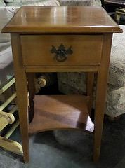 Light Maple Nightstand with Drawer