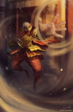 Avatar LOK Tenzin, the baws! by ~MetaMachine