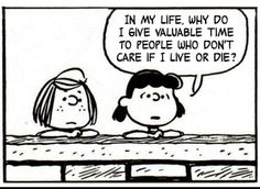 The smiths lyrics as peanuts..... The Smiths-Heaven knows I'm miserable now ♥