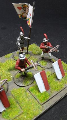 War of the Roses (1455–1487) Crossbow Men (Perry Miniatures)