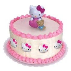 Here are a few Hello Kitty Birthday Party Ideas for little girls' birthdays.    You can create a fantastic Hello Kitty Birthday Theme using various...