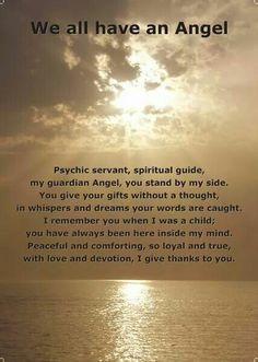 Oja we hebben allemaal een Engel,onze Beschermengel die heel ons leven bij ons is en ons helpt en zal beschermen! .......lbxxx.