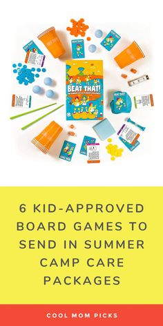 6 fun board games for summer camp care packages: These are the ones our kids have tested and approved with their entire bunks! #summercamp #parentingtips #groupgames #gamesforkids #giftsforkids #familygamenight Tech Gifts For Dad, Cool Gifts For Kids, Fun Games For Kids, Group Board Games, Mature Games, Camp Care Packages, Really Fun Games, Thoughtful Gifts For Her