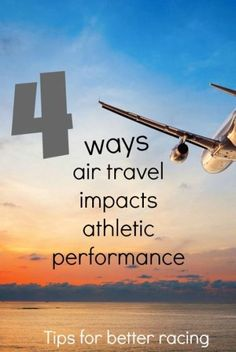traveling is one of the great things about running, click for 4 tips will help you overcome the impacts of air travel - digestion, fatigue