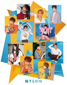 Cre: the owner/as logo Produce 101 Season 2, Polaroid Film, Seasons, Boys, Movies, Movie Posters, Idol, Korea, China