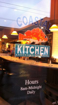 Coastal Kitchen, Oyster Bar. Capitol Hill. Seattle, WASHINGTON STATE |  Window Shopping | Pinterest | Oyster Bar, Seattle Washington And Oysters