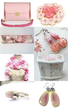 Shopping in... Pink!!! by Patty on Etsy--Pinned with TreasuryPin.com