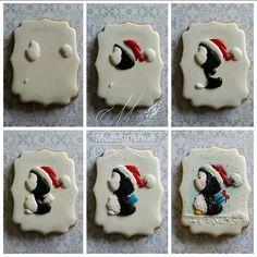 DIY #tutorial #christmas #handmade #cookies #penguin #cute