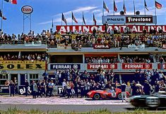 Testa Rossa at Le Mans 1960 - Glorious days.