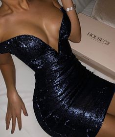 Cute Comfy Outfits, Classy Outfits, Boujee Outfits, Sequin Dress, Homecoming Dresses, Strapless Dress Formal, Beautiful Dresses, Short Dresses, Fashion Dresses