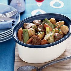 Lamb Stew with Root Vegetables | Food & Wine