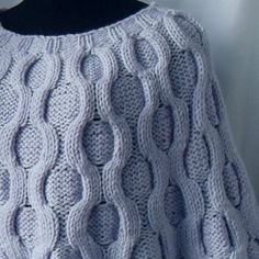 Items similar to 35 % off - Knitted poncho cape wrap with cables - for her-gift idea. FREE worldwide shipping on Etsy Loom Knitting, Hand Knitting, Knitted Poncho, Shawls And Wraps, Lace Shorts, Beige, Womens Knitwear, Trending Outfits, Crochet