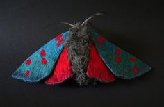 One-Foot Wide Butterfly Sculptures Hand-Crafted with Gorgeous Detail - My Modern Met