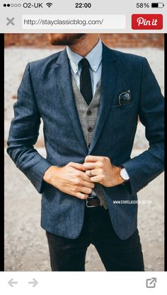 Brilliant smart look with an British twist