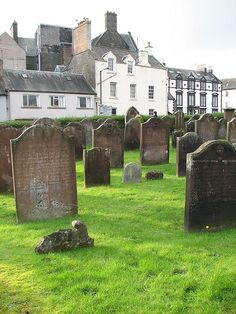 Old Moffat Cemetery, Scotland by Traveling Diva, via Flickr