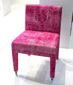 fab worn fabric chair !!