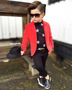 Trendy Fashion Outfits Mens Little Boys Ideas Toddler Boy Fashion, Little Boy Fashion, Toddler Boy Outfits, Toddler Boys, Outfits Niños, Kids Outfits, Fashion Outfits, Baby Boy Hairstyles, Baby Boy Dress