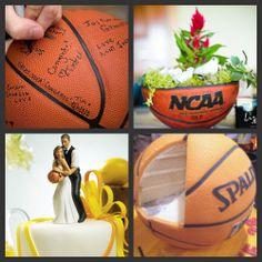 [ Weddings Fun March Madness Wedding Inspiration ] - Best Free Home Design Idea & Inspiration Basketball Wedding, Sports Wedding, Love And Basketball, Basketball Boyfriend, Basketball Players, Renewal Wedding, Wedding Ceremony, Our Wedding, Wedding Gifts