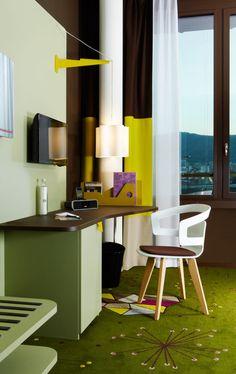 25hours Hotel Zurich West in interior design architecture  Category