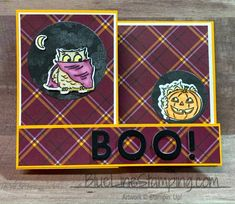 Halloween for InKing Royalty Blog Hop - Blue Line Stamping