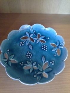 Skutt celebrates - Use or for your chance to be featured on the Skutt feed. Slab Pottery, Pottery Plates, Ceramic Pottery, Thrown Pottery, Pottery Vase, Ceramic Pots, Ceramic Flowers, Ceramic Clay, Ceramics Projects