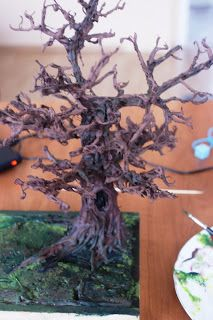 An excess of free time: autumn przedskoczek how to build a miniature tree/ WOW!