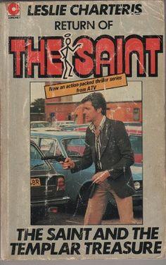 The Saint and the Templar Treasure, paperback.
