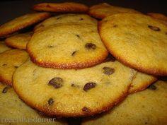 galletas de plátano y chocolate