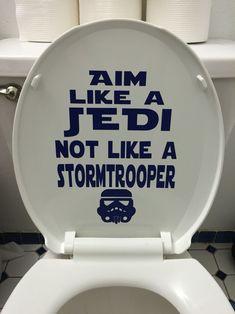 Star Wars bathroom humor decal funny stormtrooper #BathroomHumor