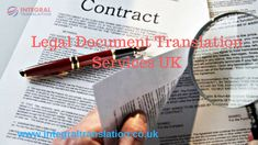 We offer legal translations services and interpreting in over 300 languages  http://www.integraltranslation.co.uk/legal_translation.php …
