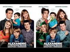 👪 Filme De Comédia Familia - Alexandre e o Dia Terrivel, Horrível, Espantoso e Horroroso 2015 Dublado. /  👪 Family Comedy Movie - Alexander and the Terrible Day, horrible, Amazing and Horroroso 2015 Voiced,