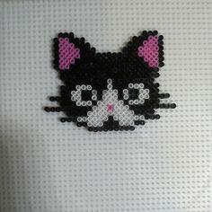 Cat hama beads by hamabeadsart