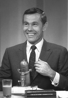 """""""To tell the truth"""" was the first T.V. show that we saw Johnny. We laughed so hard, we couldn't believe anyone could be so FUNNY! Then he went on to make history doing The Tonight Show."""