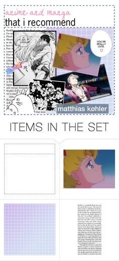 """""""☾✧ anime and manga that i recommend 