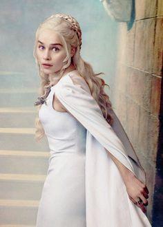 "Emilia Clarke as ""Danaerys Stormborn"" (The Mother of Dragons) my fav!"
