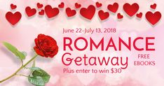 Win a $30 Gift Card from Romance Getaway!