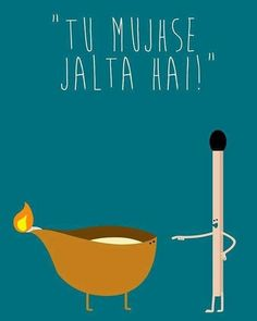 Visit the post for more. Diwali Greetings, Diwali Wishes, Happy Diwali, Funny Puns, Funny Games, Funny Attitude Quotes, Funny Quotes, Motivational Quotes, Funny Diwali Quotes