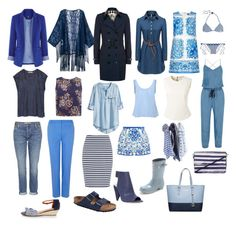 """Staycation capsule wardrobe"" by marcuajim ❤ liked on Polyvore"