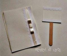 Cover libretto messa,Card confettata