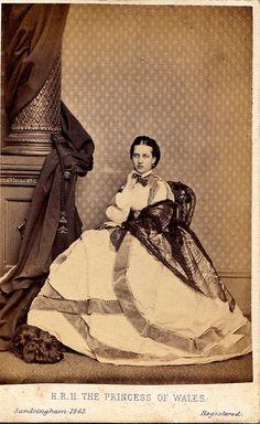 Alexandra of Denmark, Princess of Wales, 1863