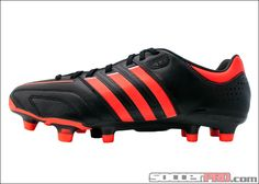sale retailer 21395 9b14a adidas adiPure 11Pro TRX FG Soccer Cleats - Black with Infrared... 134.99  Futbol