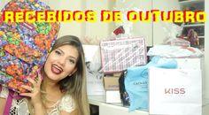 Unboxing | Recebidos de Outubro - Arco Íris Cosméticos, Vult, Tryon, Net...