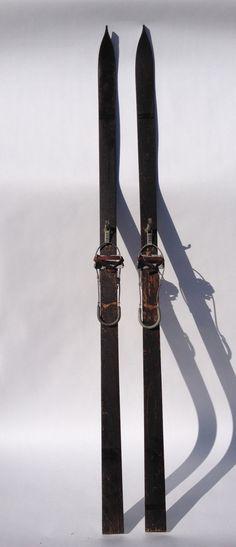 Vintage Gregg Downhill Ski Manufacturing