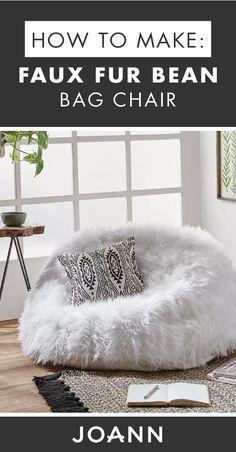 41e76b1d60 How To Make A Faux Fur Bean Bag Chair